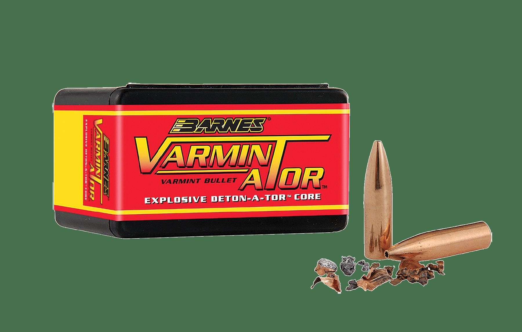 Barnes Bullets 30092 Varminator 20 Caliber .204 32 GR Flat ...