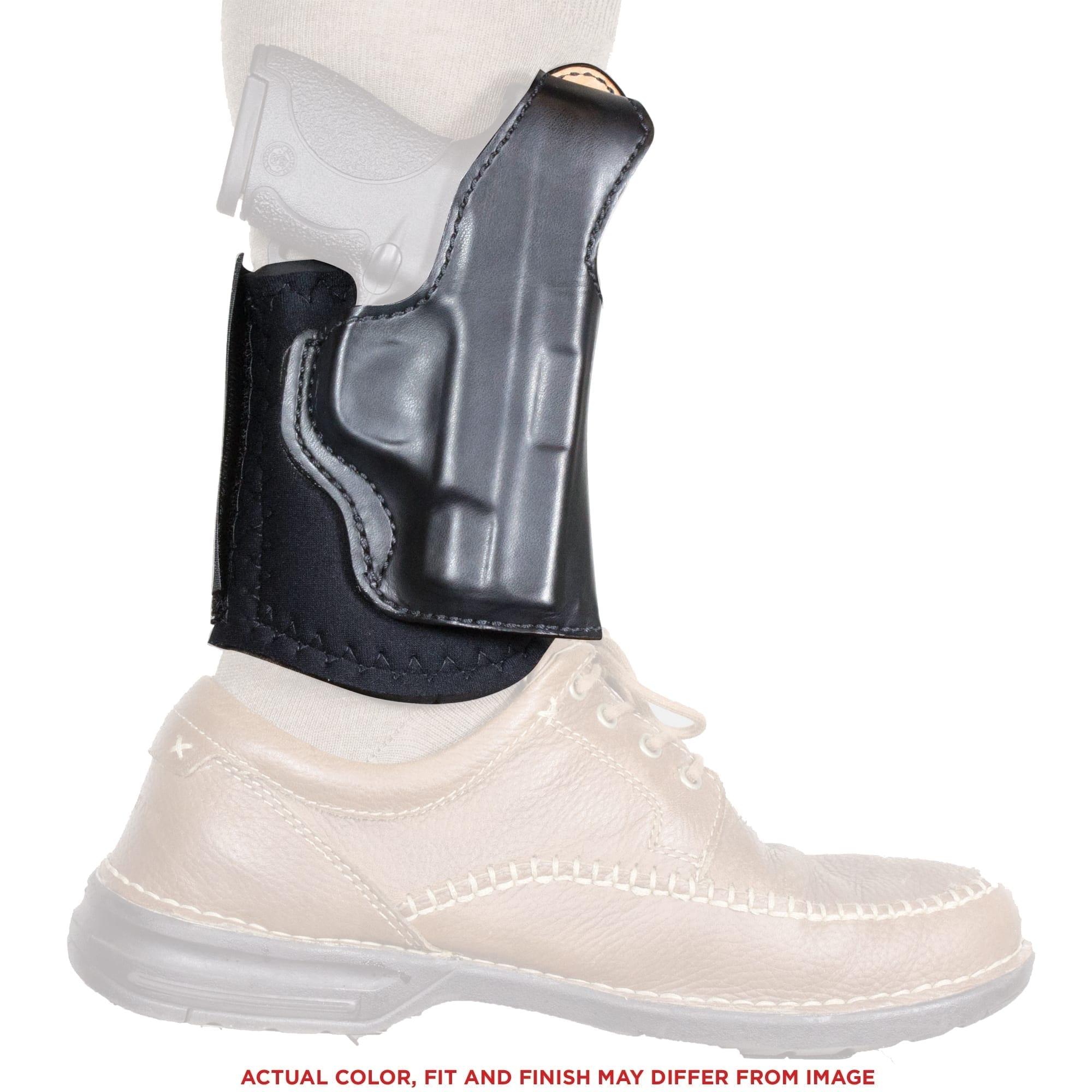 Desantis Diehard Ankle Holster Rh Leather Sig P238 Black