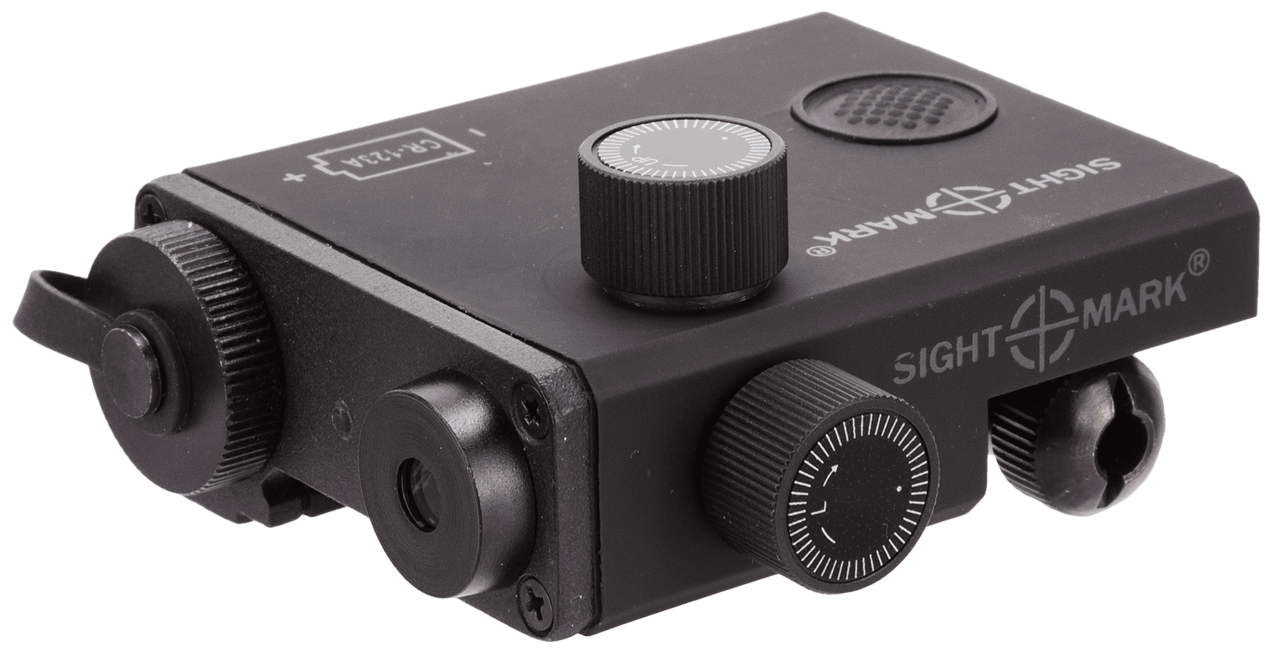 Sightmark LoPro Green Laser CR123A Battery Picatinny Mount